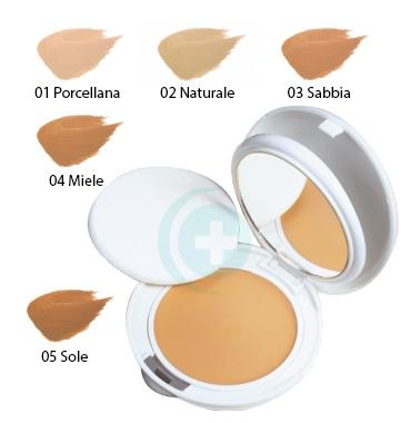 Avene Linea Couvrance Coprente Crema Compatta Oil Free Colore 04 Miele
