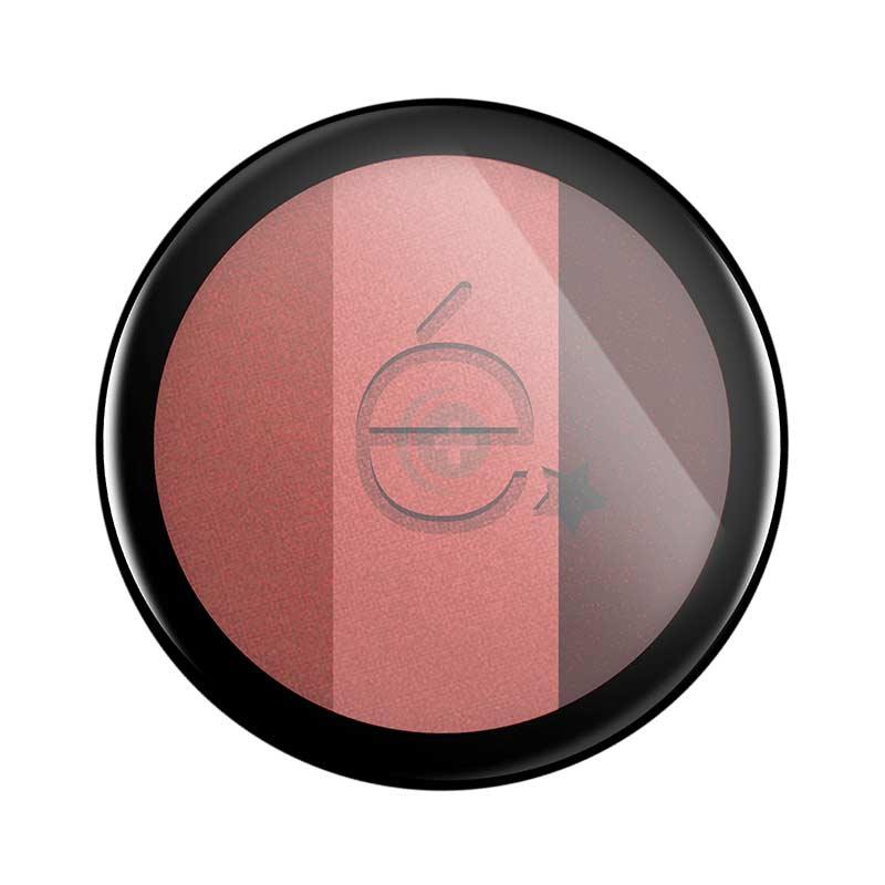 Rougj Linea Make-up Etoile Ombretto Trio in Polvere Compatto Amaranto/Salmone/To